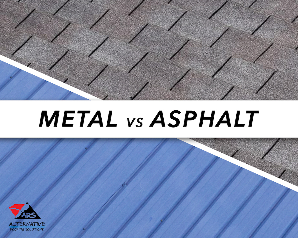 Most cost efficient roof: Metal roof vs. asphalt shingle roof